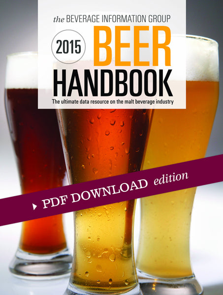 2015 Beer Handbook PDF edition with CD