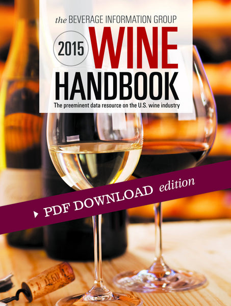 2015 Wine Handbook PDF edition with CD