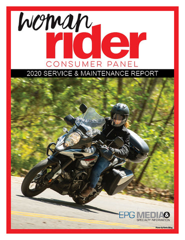2020 Woman Rider Service & Maintenance Report