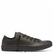 Load image into Gallery viewer, CHUCK TAYLOR ALL STAR LEATHER LOW - BLACK MONOCH