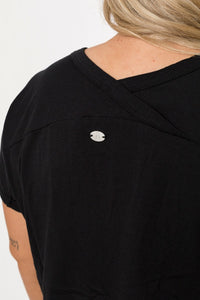 ELEMENTS SHORT SLEEVE TEE - BLACK