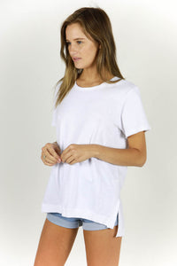 NIGHT HAWK TEE - WHITE