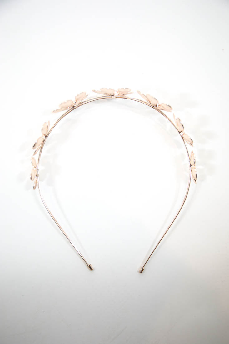 ESTELLE HEADBAND - ROSE