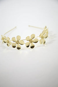 ESTELLE HEADBAND - GOLD