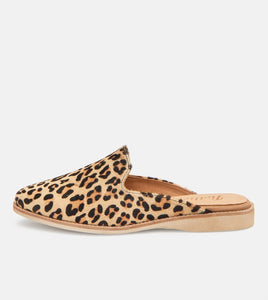 MADISON MULE - CAMEL LEOPARD