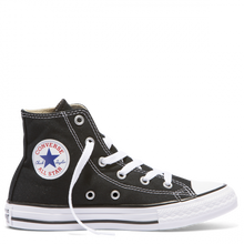 Load image into Gallery viewer, CHUCK TAYLOR ALL STAR YOUTH CANVAS HI - BLACK