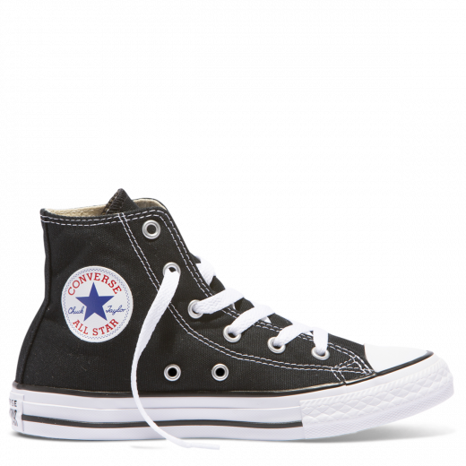 CHUCK TAYLOR ALL STAR YOUTH CANVAS HI - BLACK