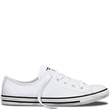 Load image into Gallery viewer, CHUCK TAYLOR ALL STAR DAINTY LEATHER - WHITE