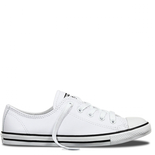 CHUCK TAYLOR ALL STAR DAINTY LEATHER - WHITE