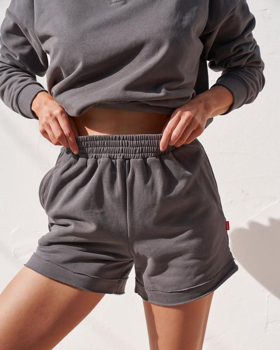 LOUNGE SHORTS - CHARCOAL