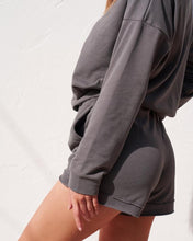 Load image into Gallery viewer, LOUNGE SHORTS - CHARCOAL