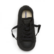 Load image into Gallery viewer, CHUCK TAYLOR ALL STAR YOUTH CANVAS LOW - BLACK MONOCH