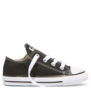 Chuck Taylor All Star Youth Canvas Low - Black