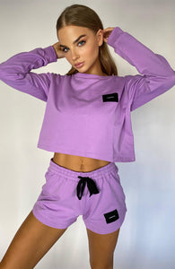 CARTEL BADGE LOGO TOP - LAVENDER