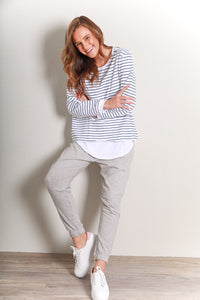 MARGOT SWEATER - STRIPE