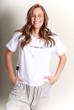 Load image into Gallery viewer, ALL ABOUT EVE WASHED TEE - WHITE