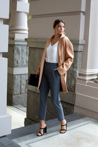 MOVIDA COAT - TAN