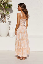 Load image into Gallery viewer, KYE DRESS - YELLOW STRIPE