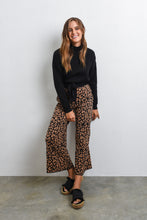 Load image into Gallery viewer, LYLA KNIT PANT - LEOPARD