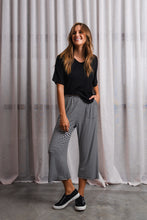 Load image into Gallery viewer, LUQA PANT - BLACK/WHITE