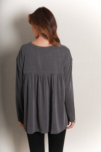 RIO TOP - CHARCOAL