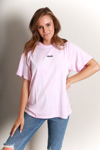 Load image into Gallery viewer, FREEDOM OVERSIZED TEE - PINK TIE DYE