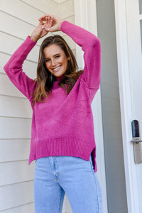 TAY KNIT - HOT PINK