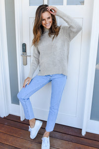TAY KNIT - GREY