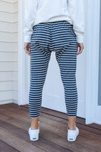 Load image into Gallery viewer, BONDI PANTS - CHARCOAL STRIPE