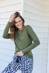 KARA LONG SLEEVE - KHAKI