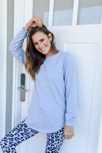 Load image into Gallery viewer, RENEE LONGLINE JUMPER- GREY MARLE