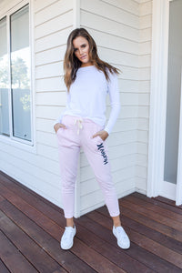 ONE & ONLY FLEECE PANT - PINK