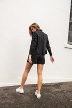 Load image into Gallery viewer, KASTEL BLAZER - BLACK