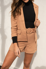 Load image into Gallery viewer, KASTEL BLAZER - TOFFEE