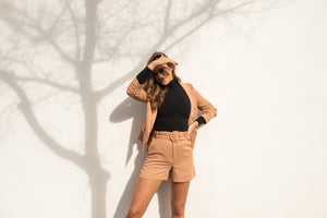 KASTEL SHORT - TOFFEE