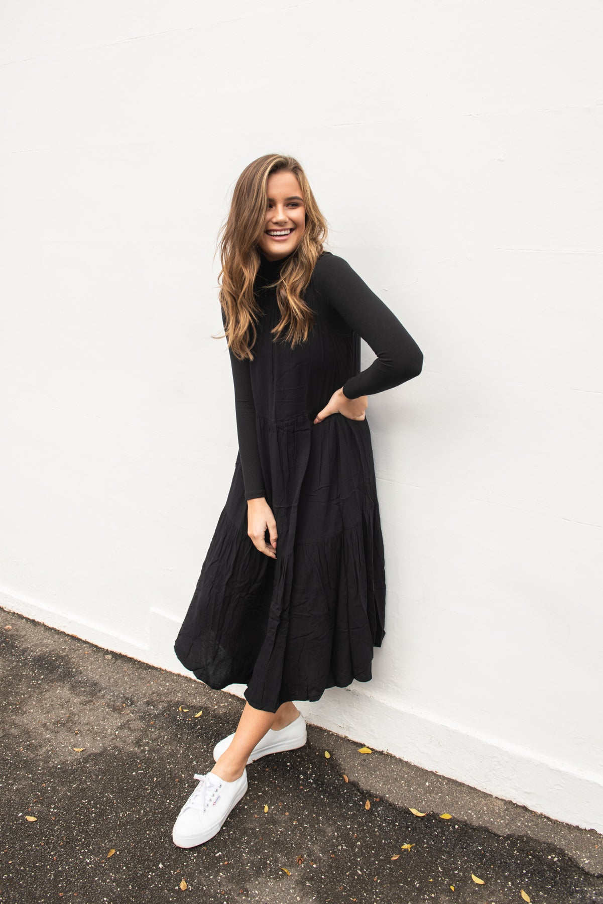 SAVANNA DRESS - BLACK