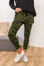 Load image into Gallery viewer, KENJI COMEBACK PANT- KHAKI LEOPARD