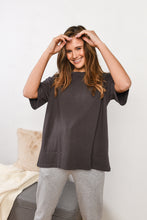Load image into Gallery viewer, BOYFRIEND T-SHIRT-CHARCOAL