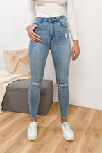 Load image into Gallery viewer, THE VICE HIGH SKINNY JEAN - INDIGO BLAZE