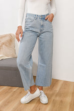Load image into Gallery viewer, HIGH WAIST FLARE JEAN - PACIFIC BLUE