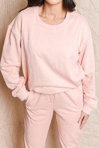KINGSFORD SWEATER - BLUSH