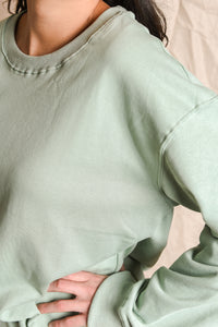 KINGSFORD SWEATER - MINT