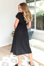 Load image into Gallery viewer, ALEKSA DRESS - BLACK
