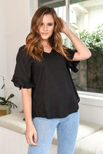 Load image into Gallery viewer, BILLE KATE TOP - BLACK