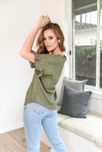 Load image into Gallery viewer, BILLE KATE TOP - OLIVE