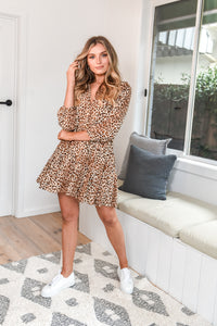 TIOGA DRESS - LEOPARD