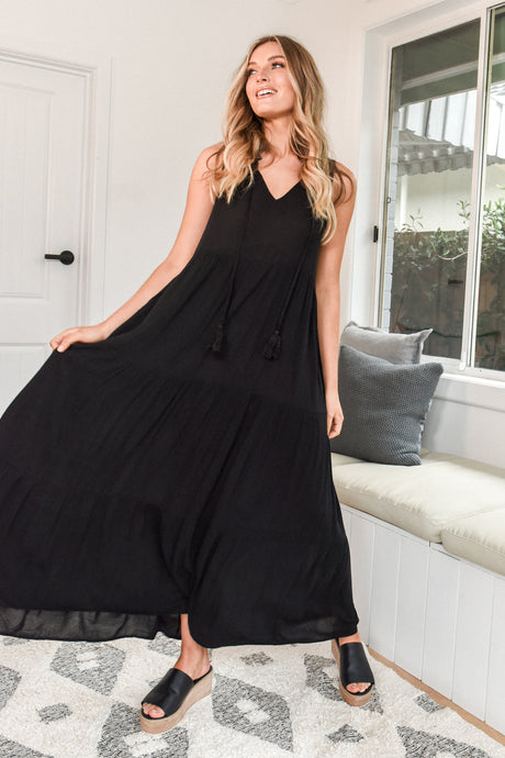 POLLY DRESS - BLACK