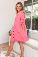 Load image into Gallery viewer, MI MI DRESS - HOT PINK
