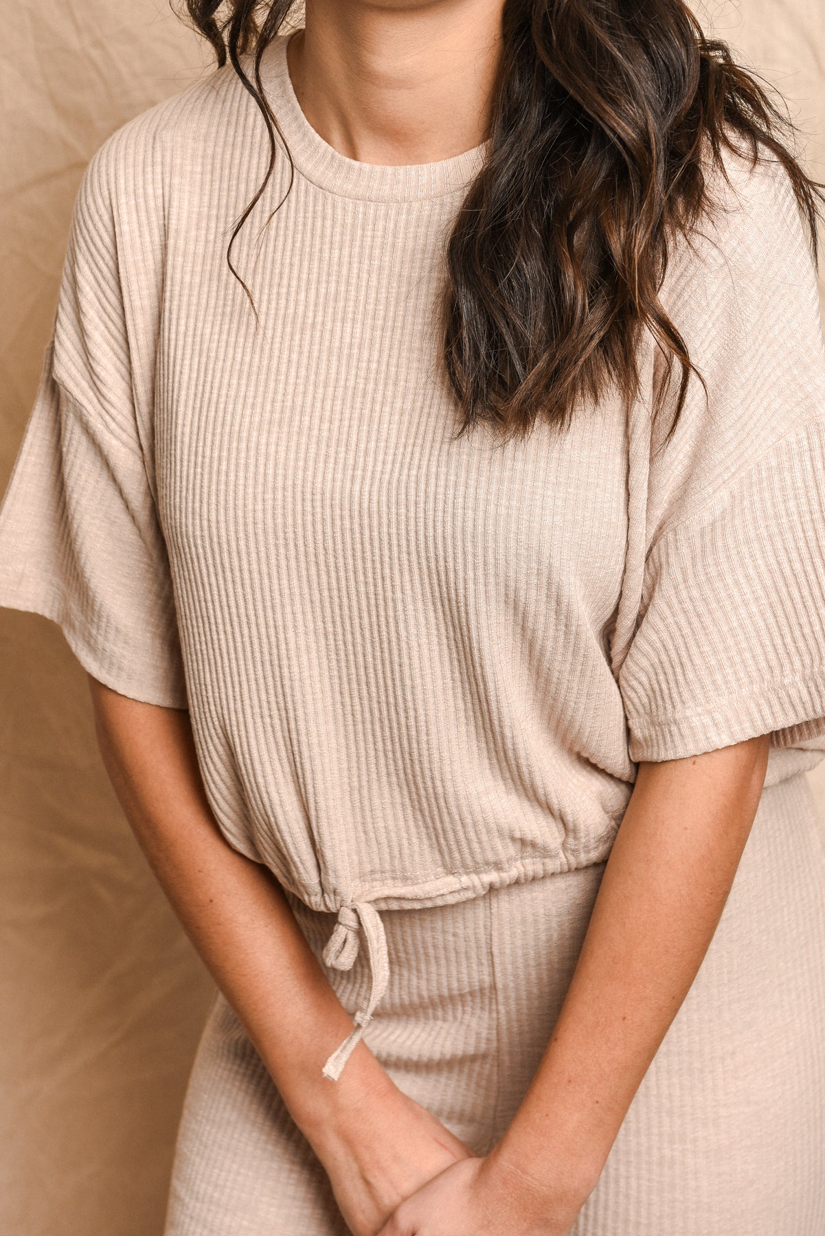 CHICAGO TOP - BEIGE
