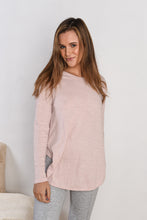 Load image into Gallery viewer, SCARLETT L/S TEE - BLUSH
